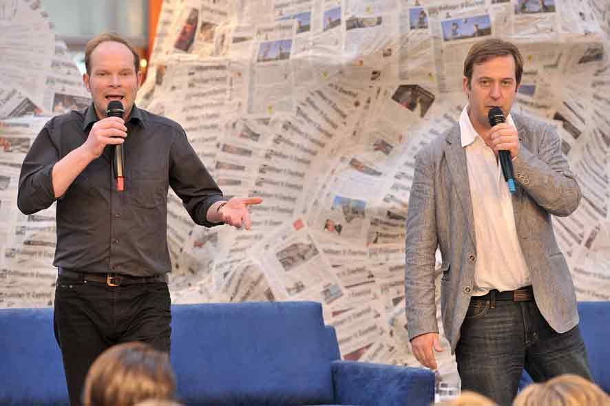 Stefan Graen und Michael vonn Zalejski. Foto (c) Christoph Mischke